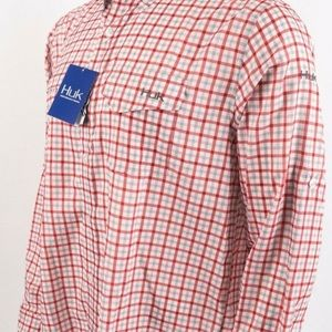 Huk Shirts - Huk Performance Tide Point Woven Plaid Checked